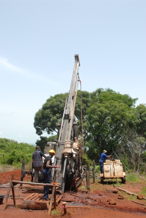 WEST AFRICA DRILLING COMPANY NIGER MALI GUINEA TOGO DIAMOND